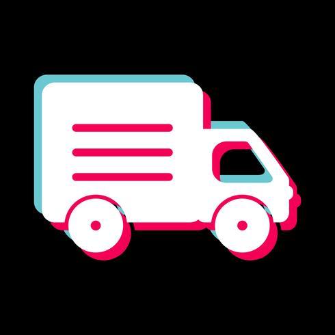 Conception d'icône de camion