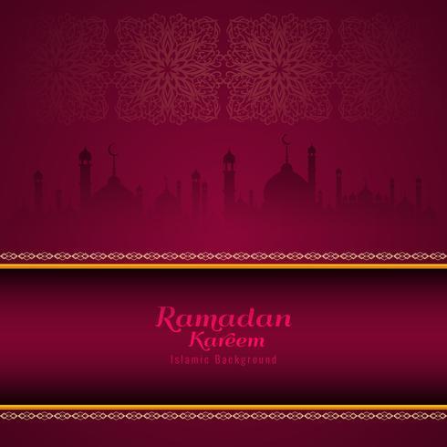 Abstrakter stilvoller religiöser Hintergrund Ramadan Kareems