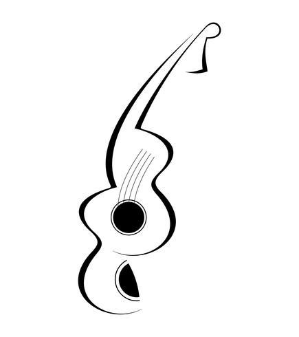 Tatuaggio per chitarra