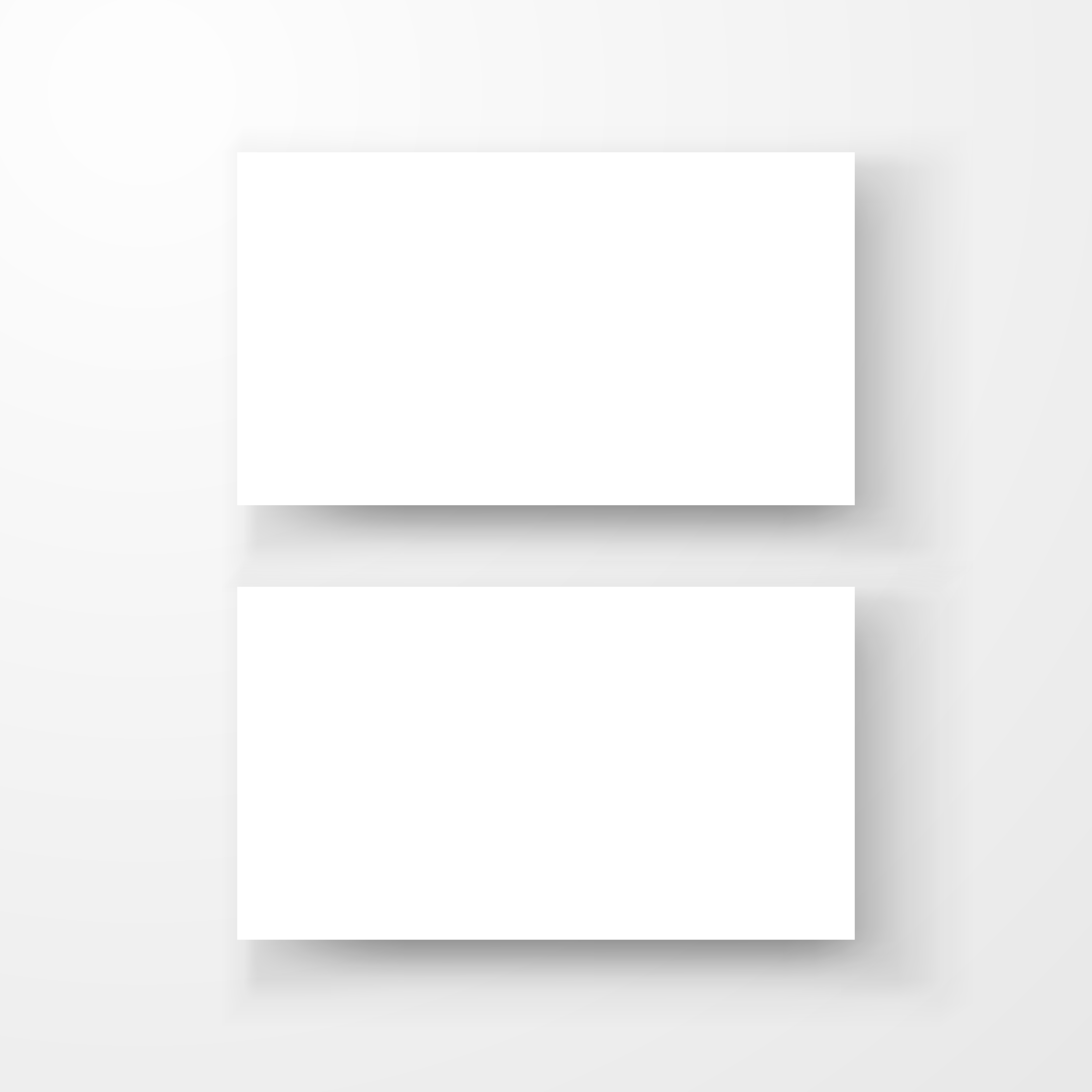 blank business card mockup template created by vector