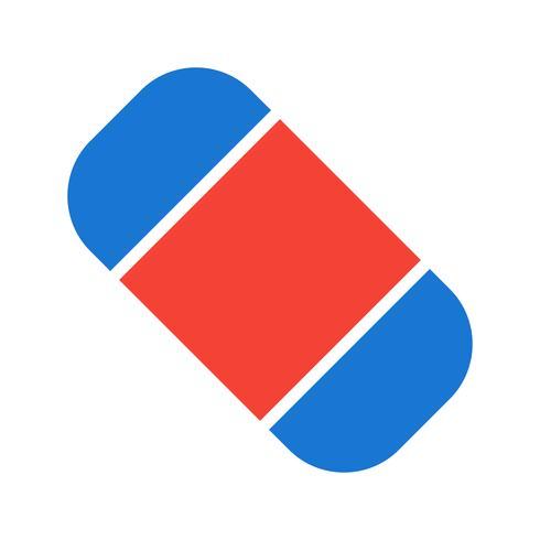 Eraser Icon Design vector
