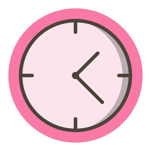 klocka ikon design