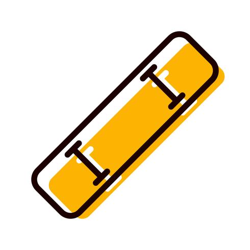 Design de ícone de skate