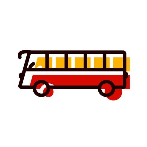 disegno dell'icona del bus