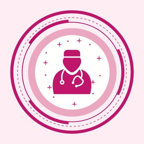 Doctor pictogram ontwerp