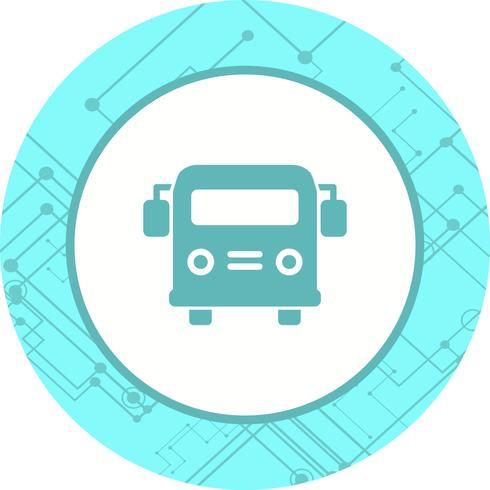 Skolbuss Icon Design vektor