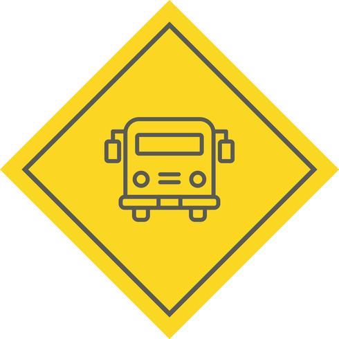 Ônibus escolar ícone Design vetor