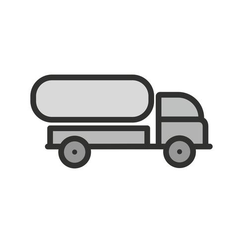 Tank Truck Icon Design vector