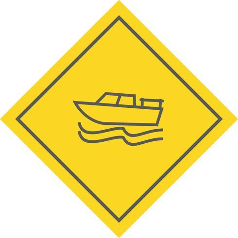 Boot pictogram ontwerp