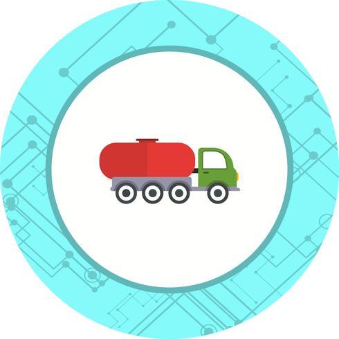 Tankwagen pictogram ontwerp