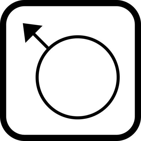 Disegno dell'icona maschile