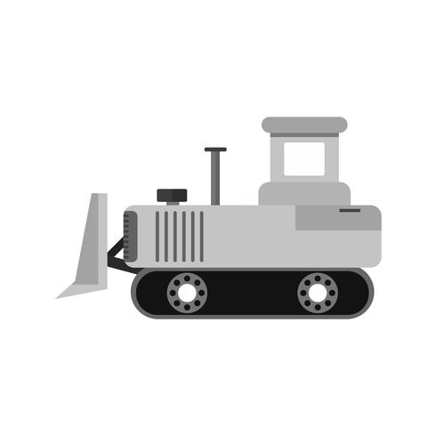 bulldozer ikon design