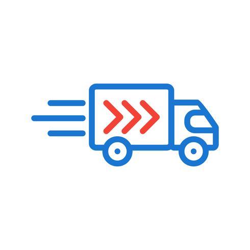 Design de ícone de caminhão de entrega