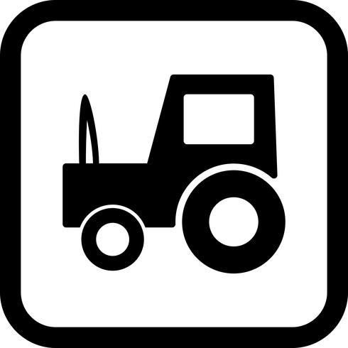 Tractor Icon Design