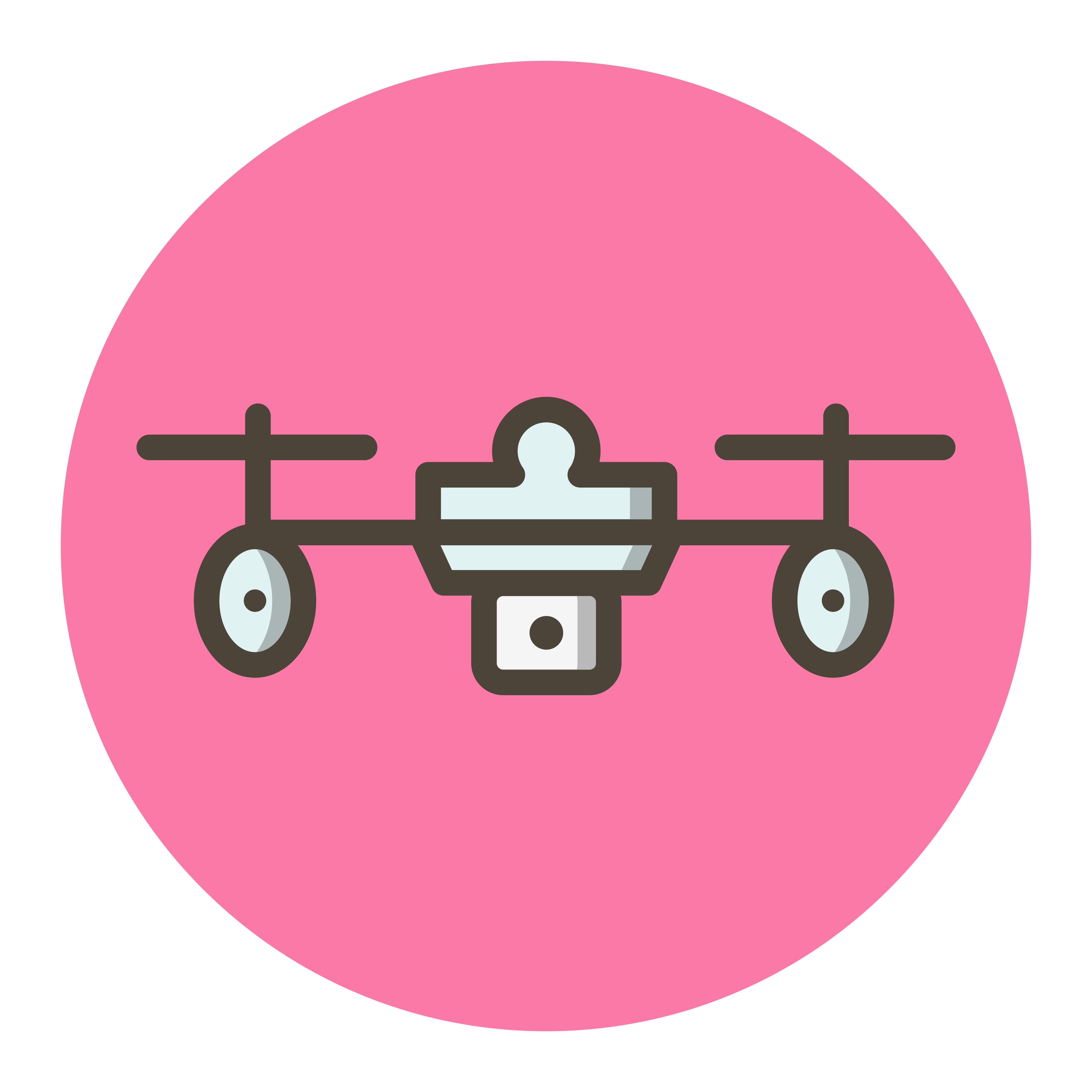 Pro Drone Logo Design:  Drone Icon Design 504857