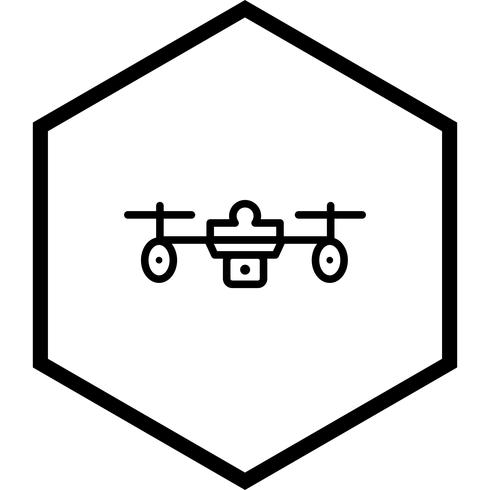 disegno dell'icona drone