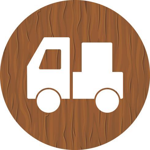 design de ícone de transportadora