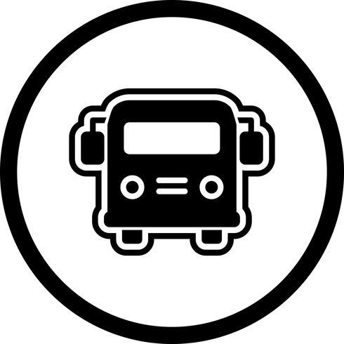 Schulbus Icon Design