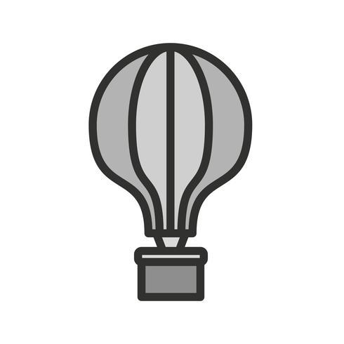 Projeto de ícone de balão de ar