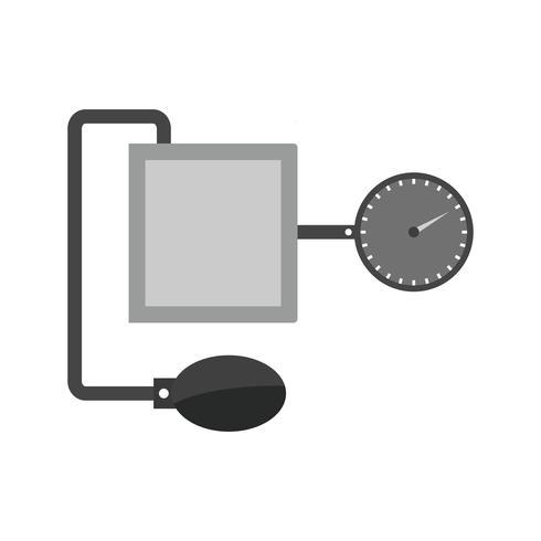 Diseño del icono del aparato BP vector