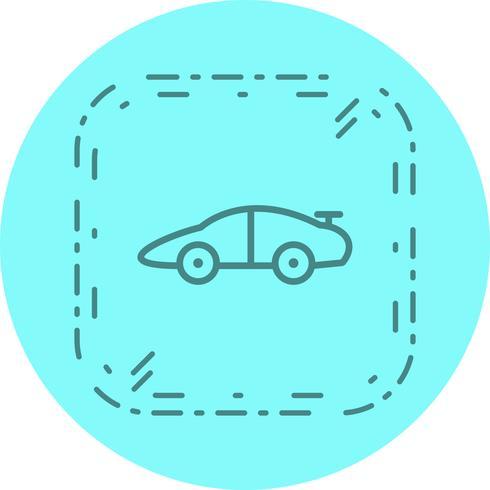 Sports Car Icon Design vector