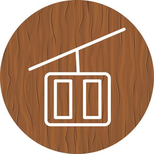 Design de ícone de elevador de cadeira