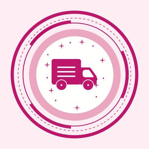 Design de ícone de caminhão