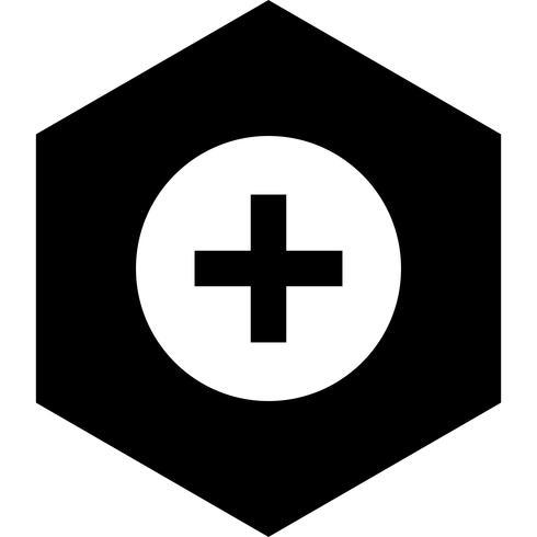 Diseño de icono de signo médico