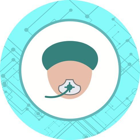 Anesthesia Icon Design vector