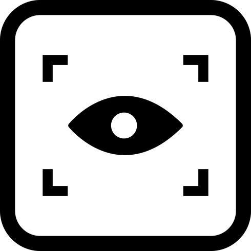 Escanear icono de diseño vector
