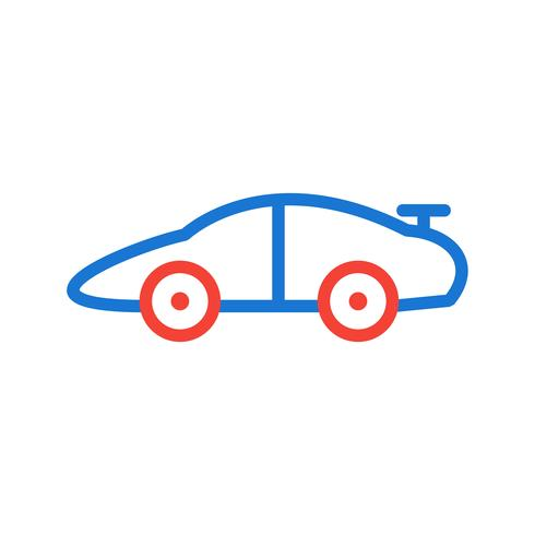 Sports Car Icon Design