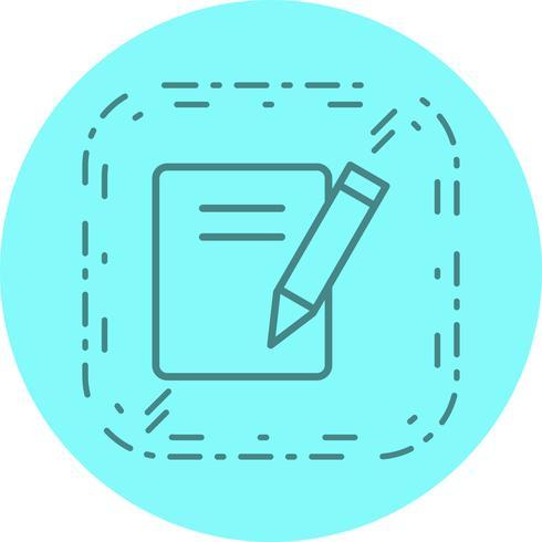 Notas icono de diseño vector