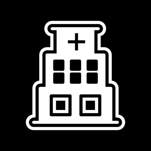diseño de iconos de hospital