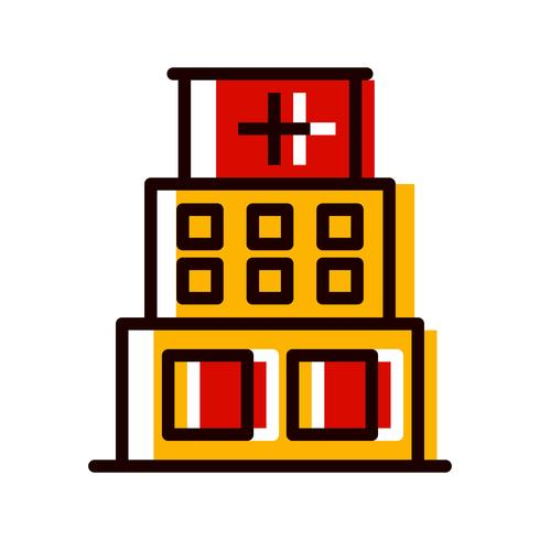 Projeto do ícone do hospital