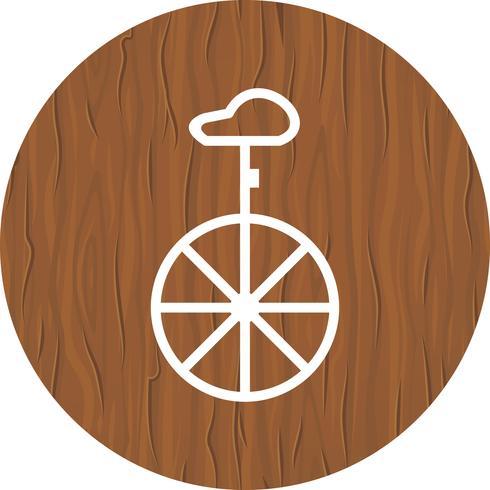 Unicycle Icon Design