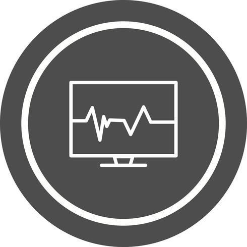 Diseño de icono de pulso vector