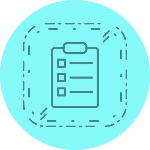 List Icon Design