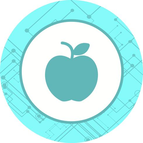 Apfel-Icon-Design