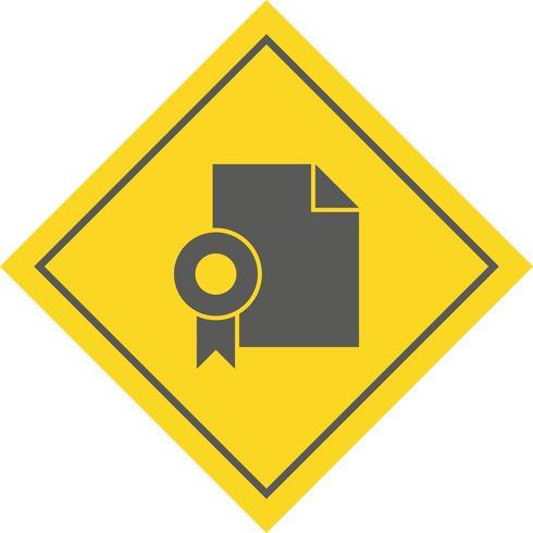 Diploma Icon Design