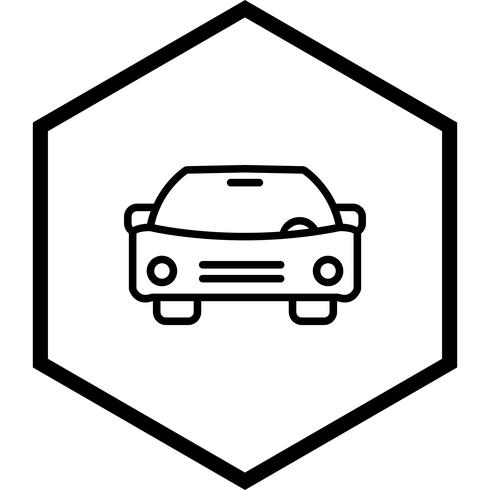 Diseño de icono de coche