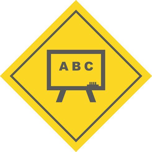 Design de ícone do quadro-negro