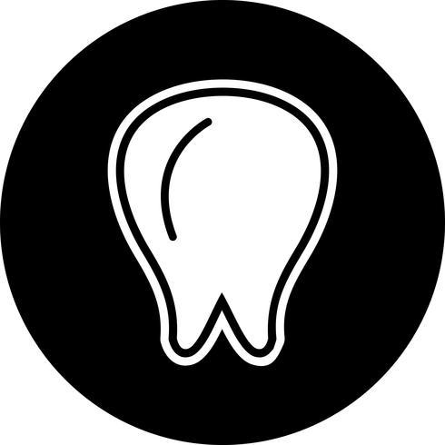 Diseño de icono de diente vector