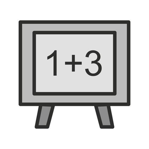 Mathematics Icon Design vector