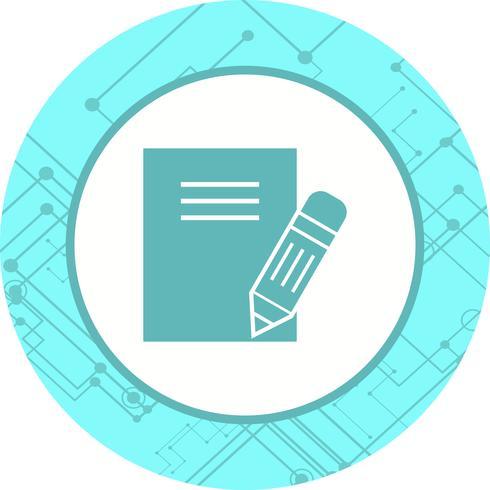 Notes Icon Design vector