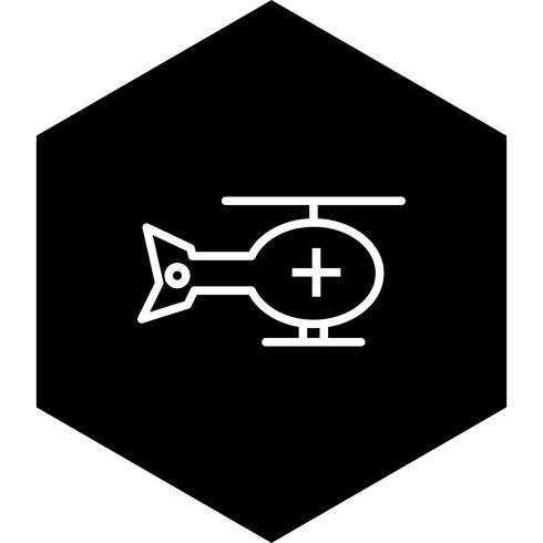 Hubschrauber-Icon-Design
