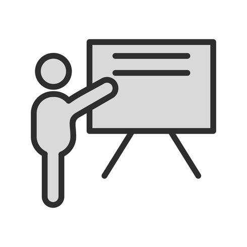 Teaching Icon Design vector