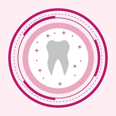 Tooth Icon Design vector