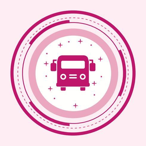 Skolbuss Icon Design