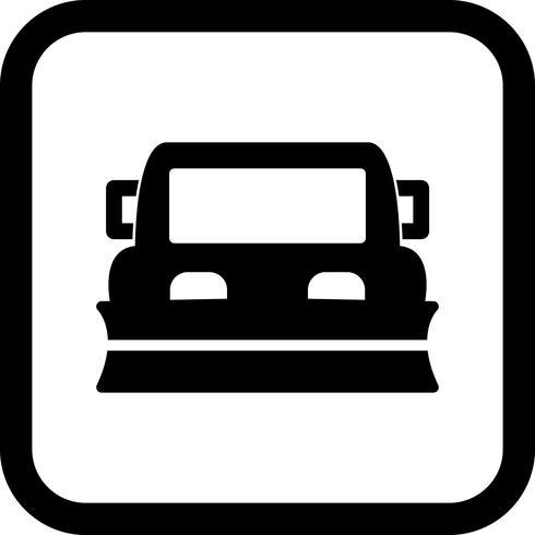 snowplow ikon design vektor