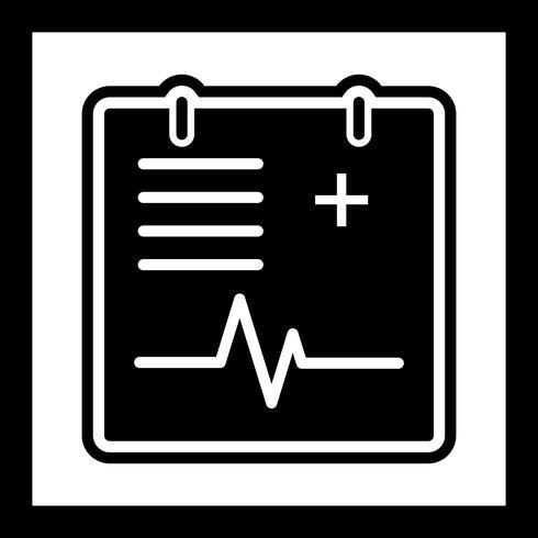 Cuadro médico icono de diseño vector